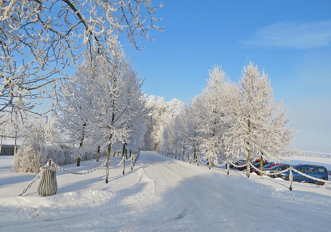Зима в Чехии. - ИРЭН@ .