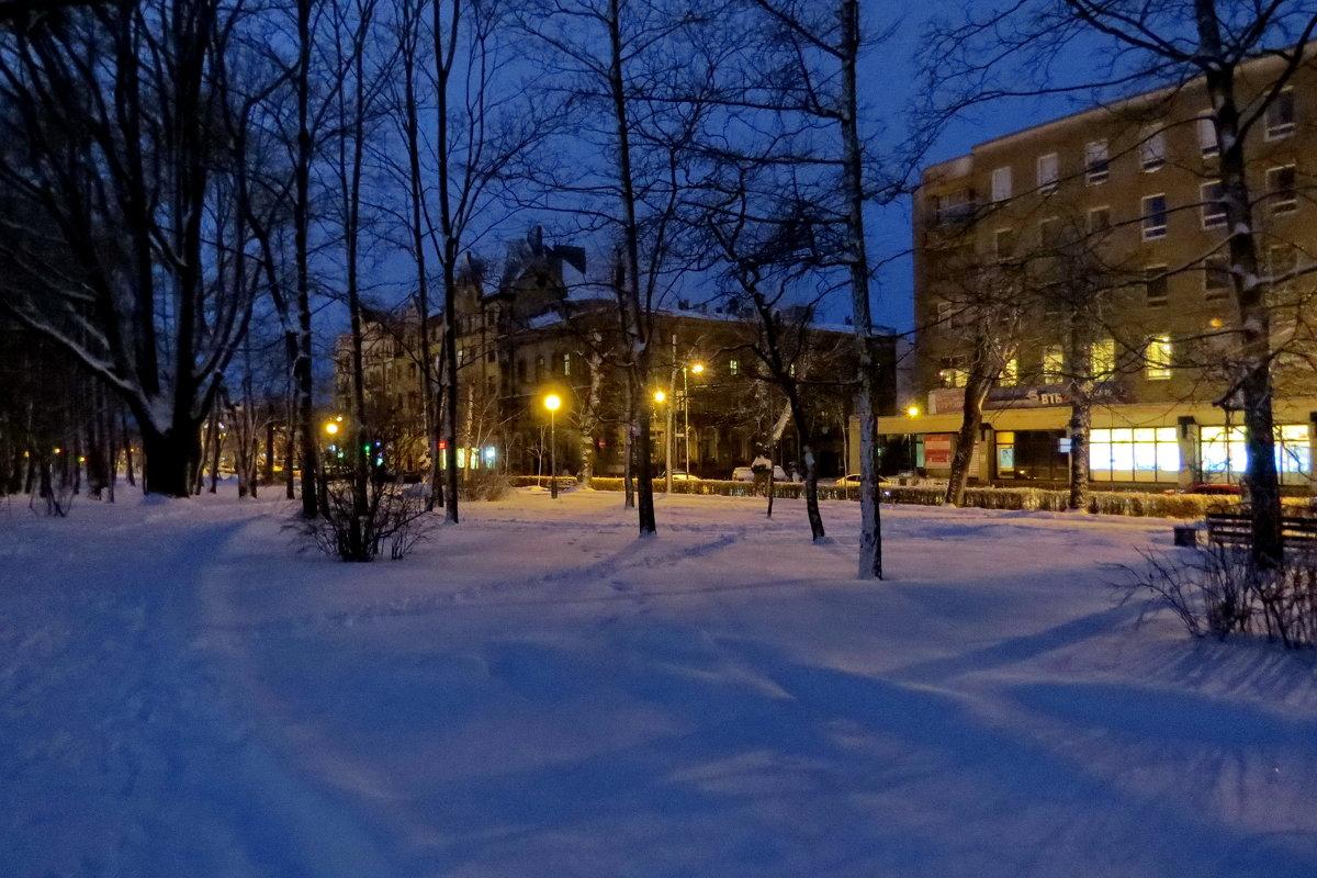 Снежный март - Светлана