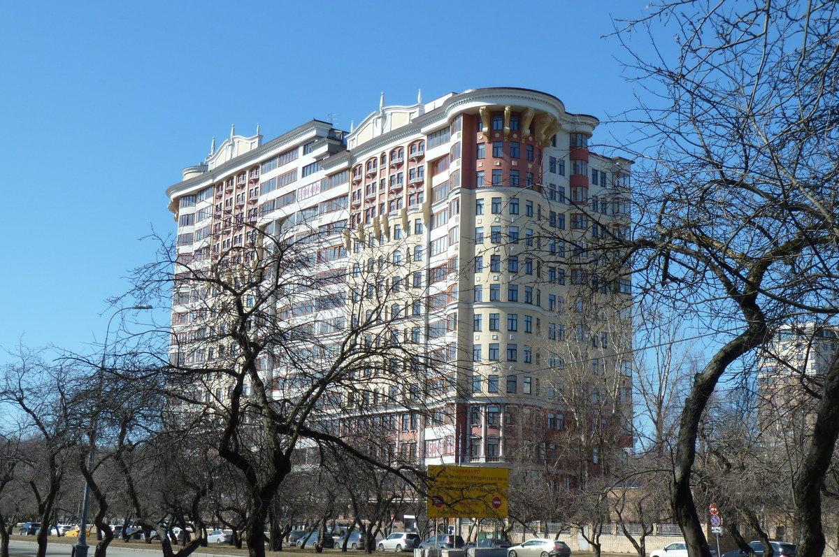 Дом на Мичуринском проспекте. - константин