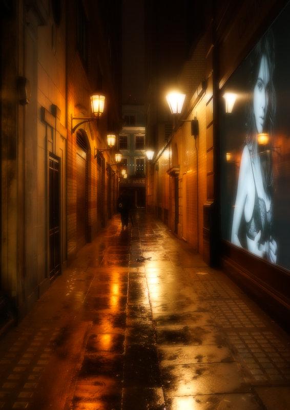 Ночной переулок. Лондон - Алексей Саломатов