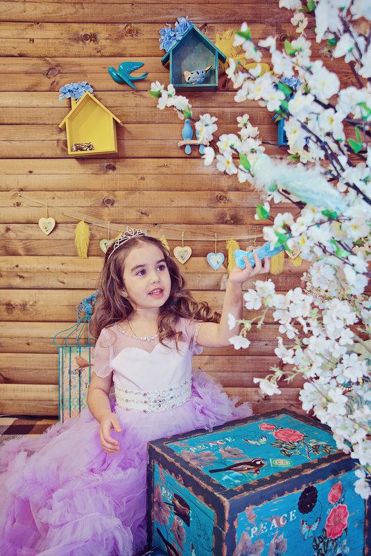 Весенняя фотосессия Софьи - марина алексеева