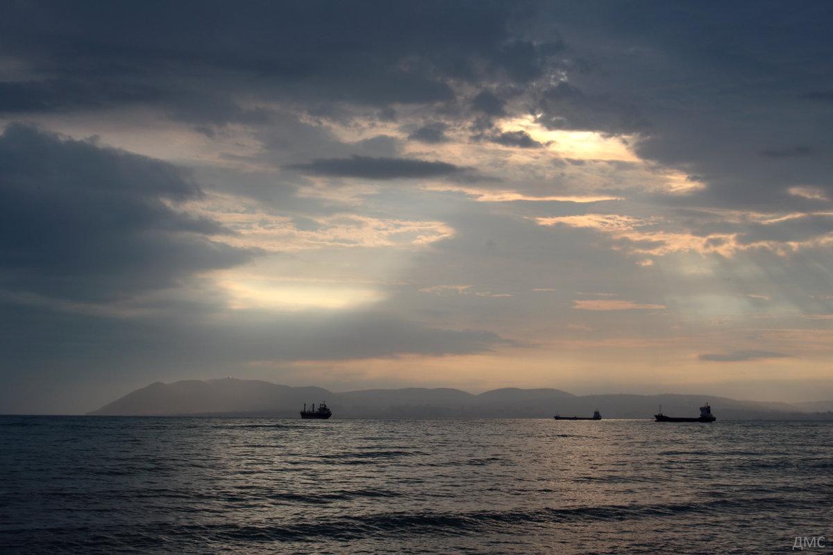 Закат на море - -DMS- .