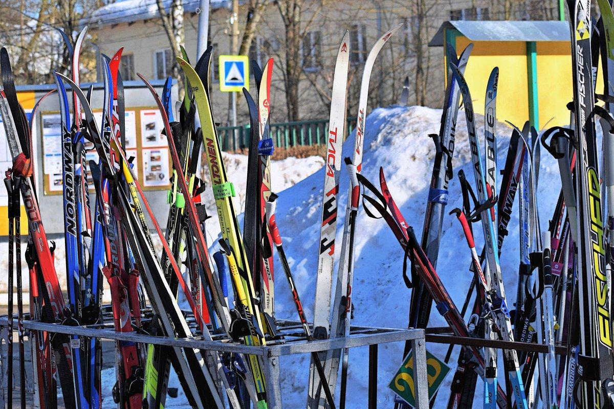 Лыжи у школы стоят, месяц кончается март! - Татьяна Помогалова