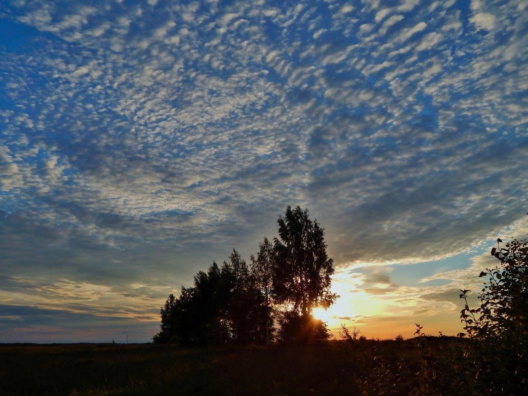 Небо вечернее - Валентина Пирогова