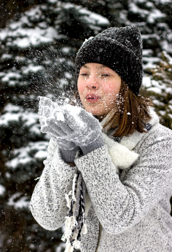 Снег - Селянка Наталья