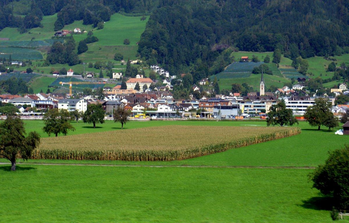 По дороге от Вадуца (Лихтенштейн) до Люцерна (Швейцария) - Елена Павлова (Смолова)