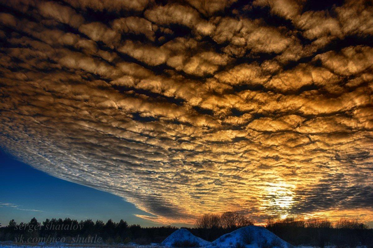 Зимний закат - Сергей Шаталов