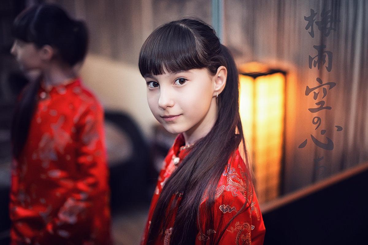 Моя маленькая японочка... - Лилия .