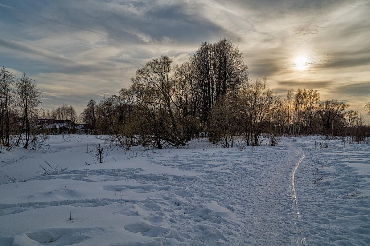 Мартовский вечер - Андрей Дворников