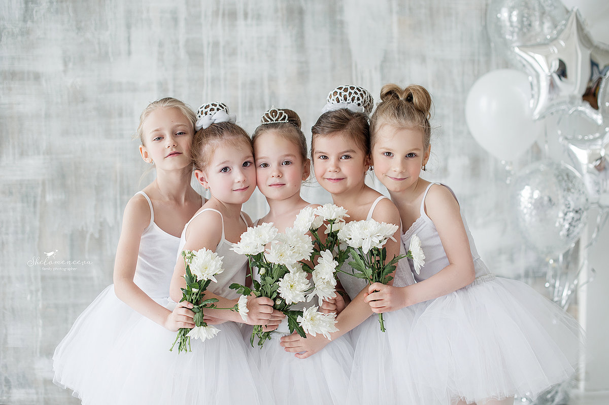 балерины - Ольга Шеломенцева