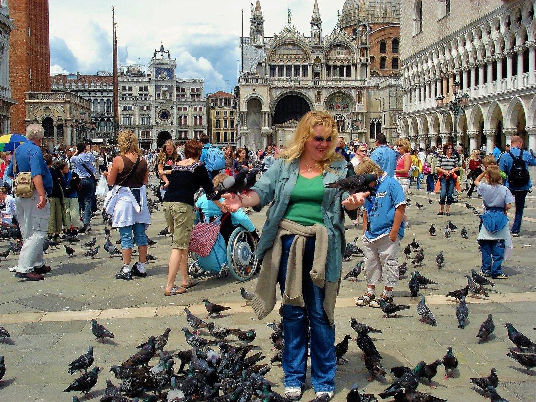 Голуби площади Сан Марко... - Sergey Gordoff