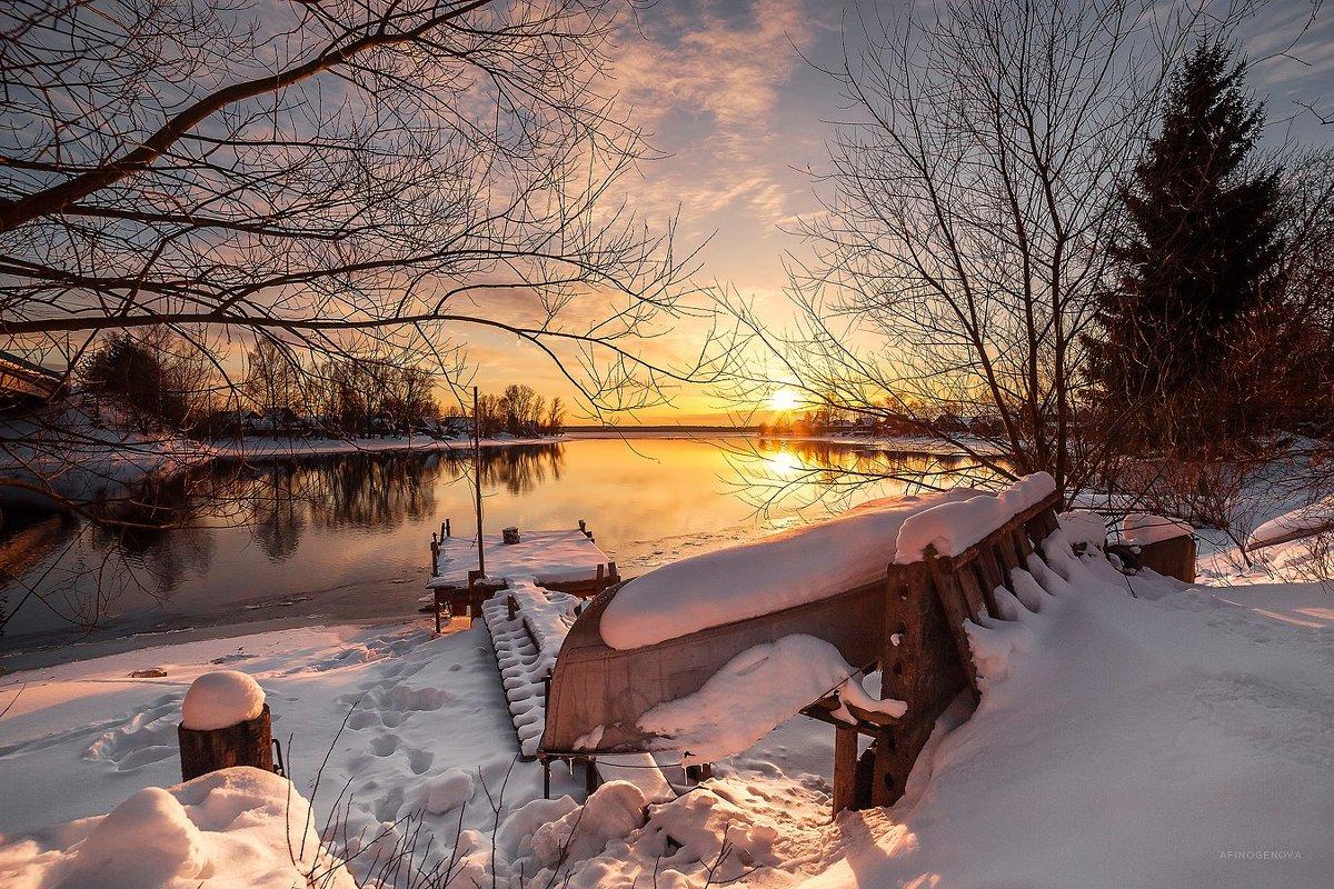 Закат на Волге - Татьяна Афиногенова