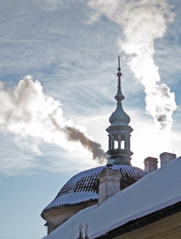 Купол часовни св. Иосифа в замке Эмниште - ИРЭН@ Комарова
