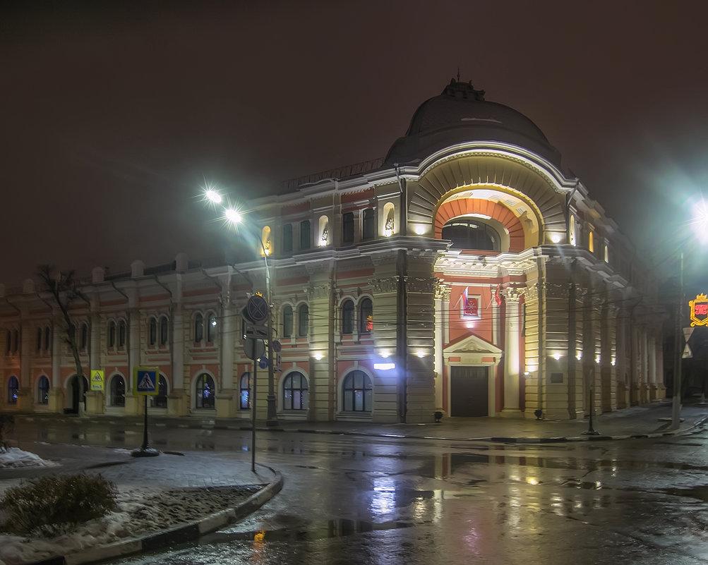 Дворец детского и юношеского творчества (Здание бывшей городской Думы) Тула. - Олег Кузовлев