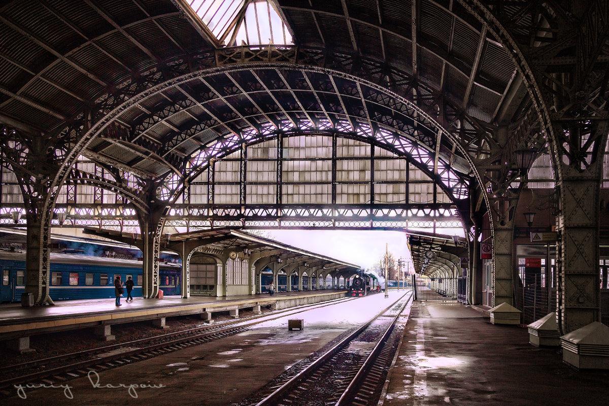 красавец Витебский вокзал - юрий карпов