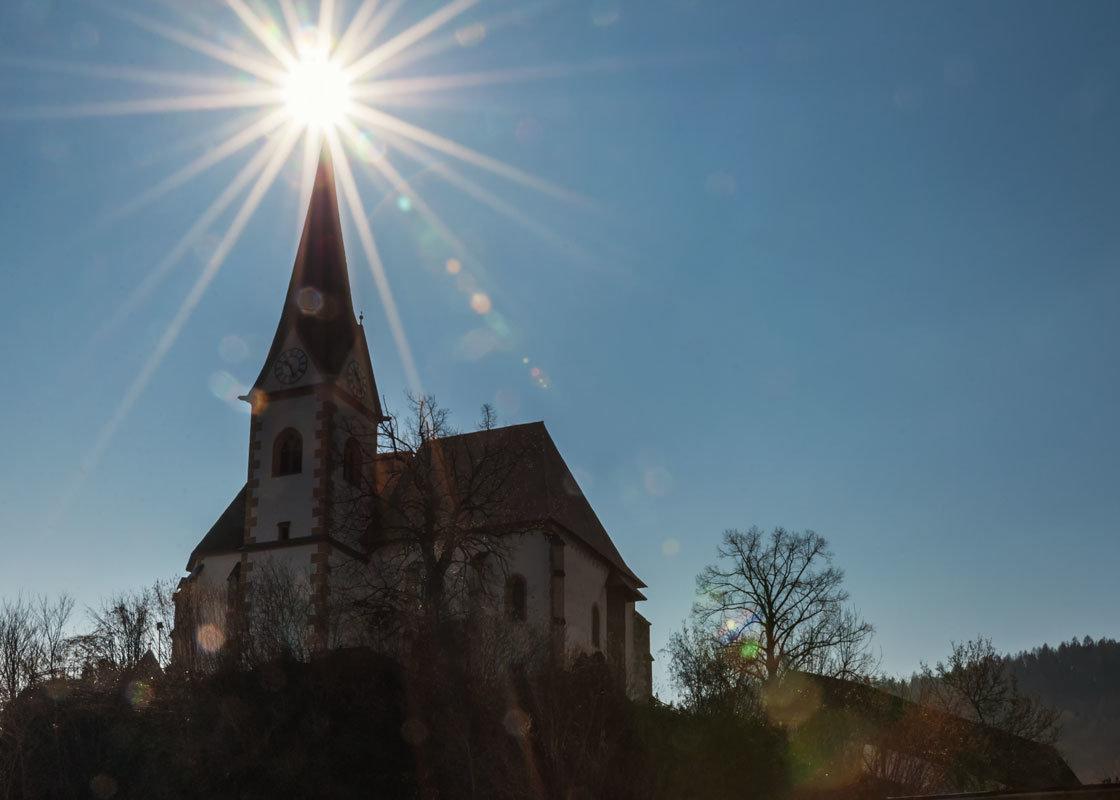Мария Вёрт. Церковь Kirchenanlage Maria Worth святых Примуса и Венециана. - Надежда Лаптева