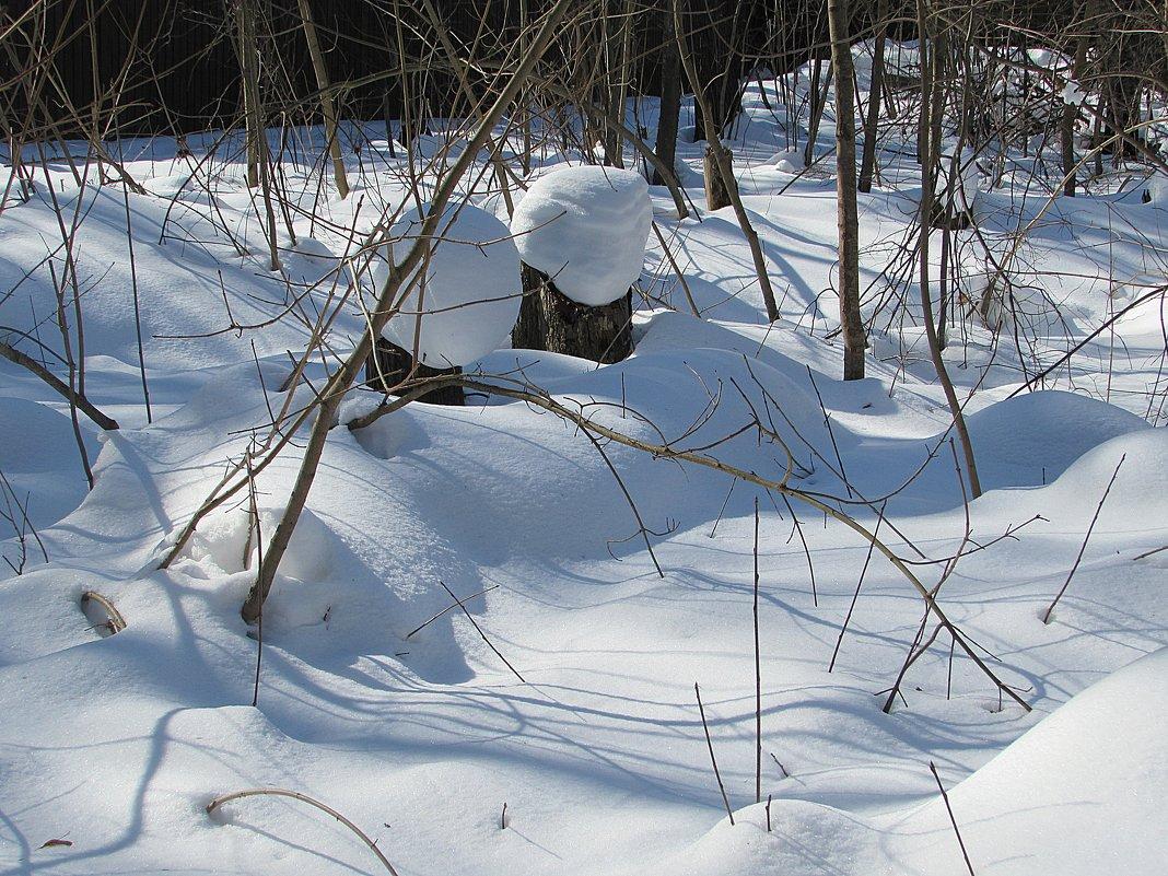 Снежные шапки - Валюша Черкасова