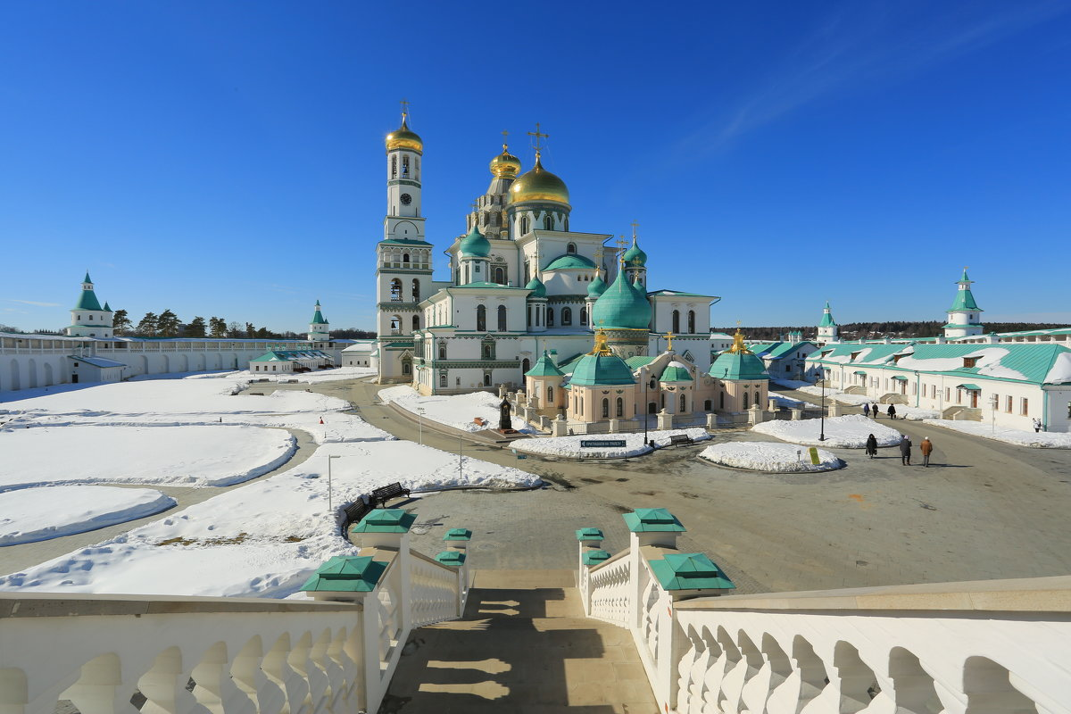 Г Истра  Ново Иерусалимский монастырь - ninell nikitina