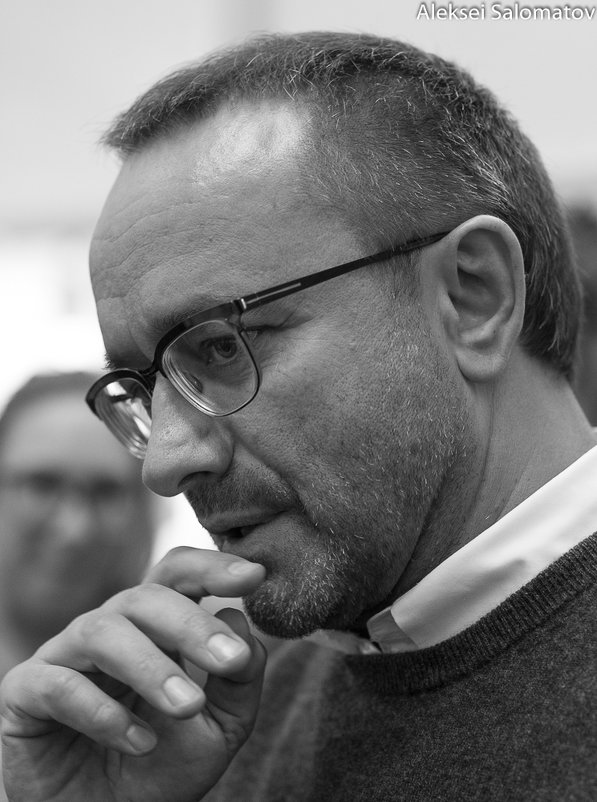 Кинорежиссер Андрей Звягинцев - Алексей Саломатов