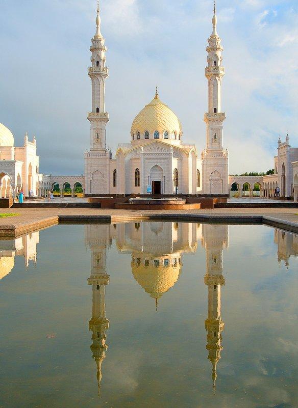 Белая мечеть г. Булгар - Николай Филимонов