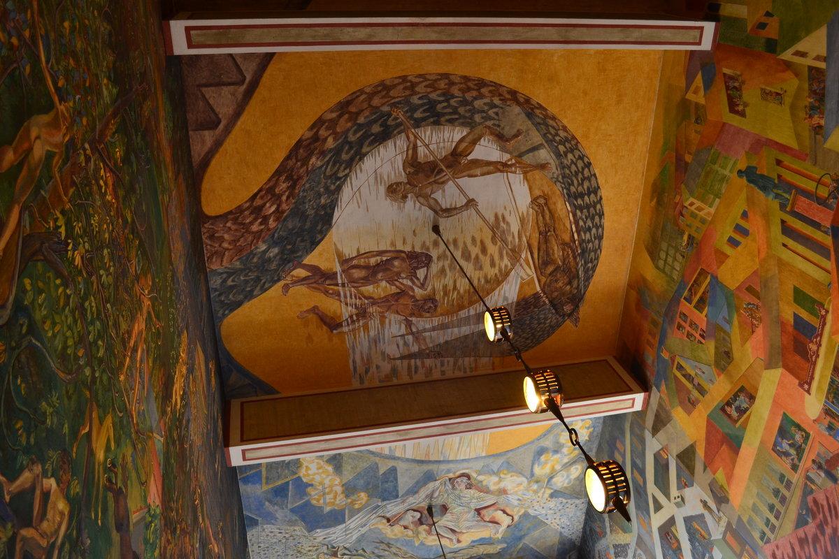Потолок в ратуше Осло - Ольга