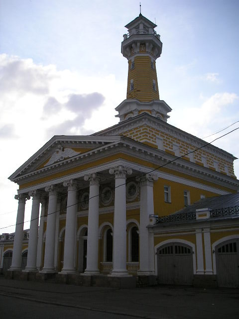 Кострома. Пожарная каланча - Димончик