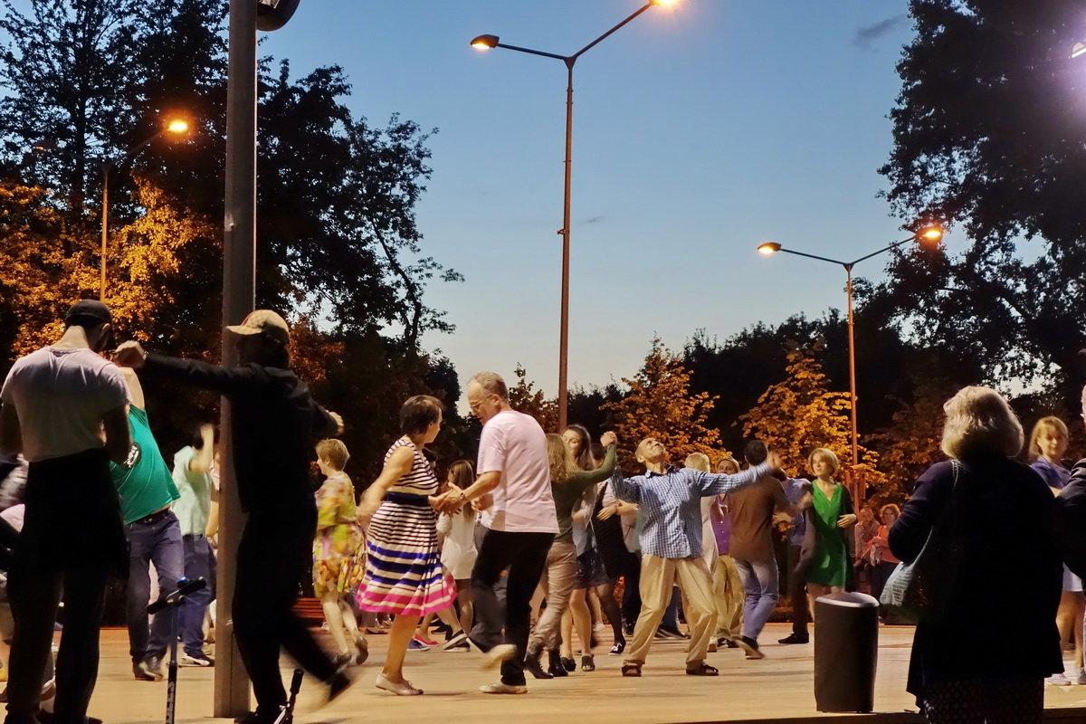 На танцах - Игорь