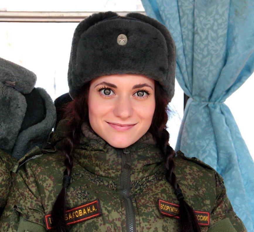 Военнослужащая - Марина Таврова