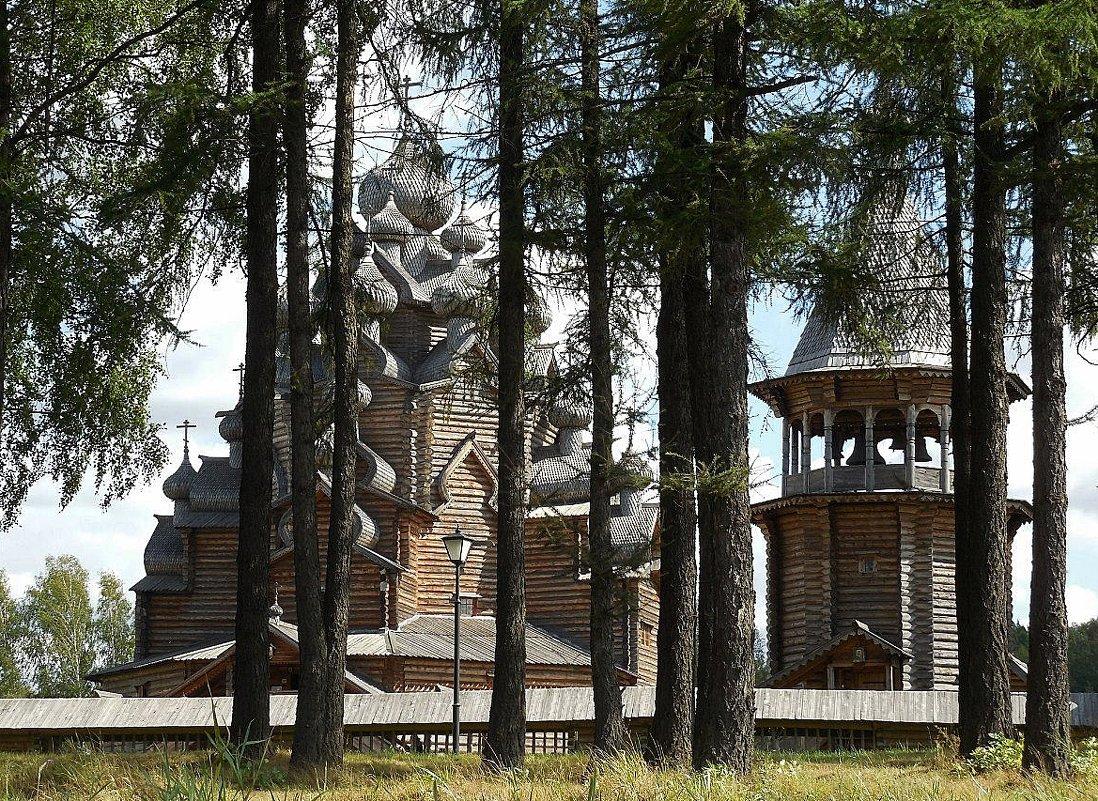 Собор Покрова Пресвятой Богородицы в Невском лесопарке - Елена Павлова (Смолова)