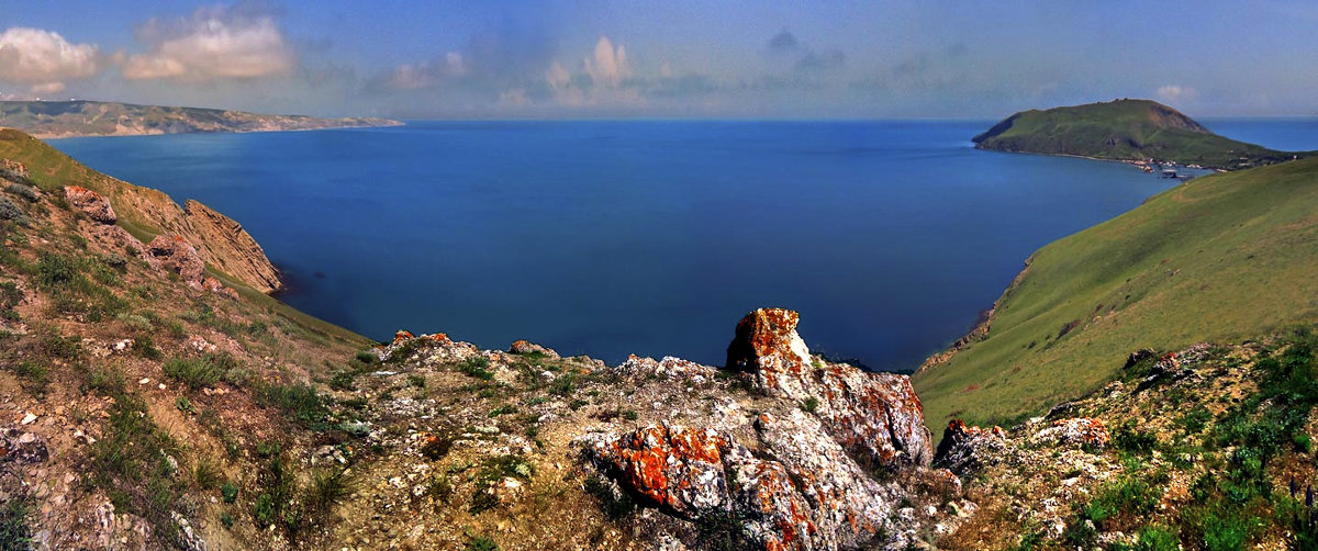 бухта Двуякорная, Крым - viton