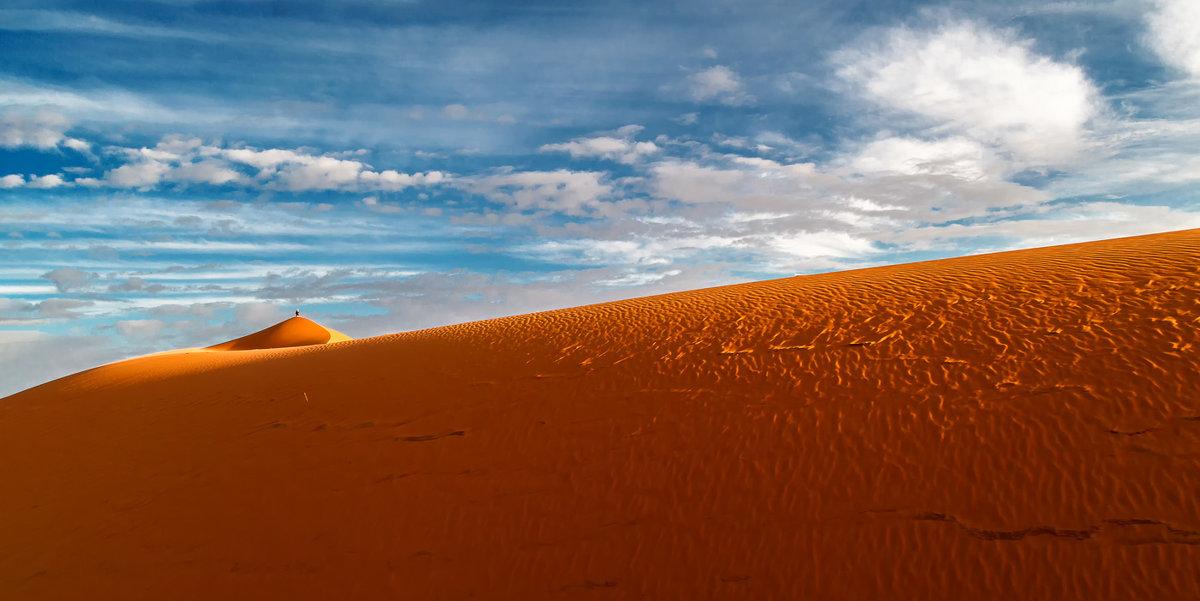 """Марсианин""...Сахарские дюны близ Мерзуги.Марокко! - Александр Вивчарик"