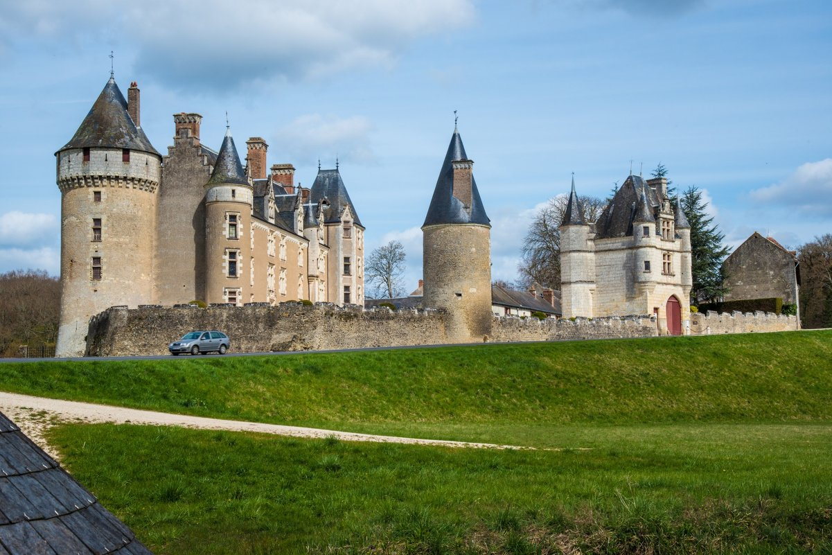замок Монпупон (chateau de Montpoupon) - Георгий
