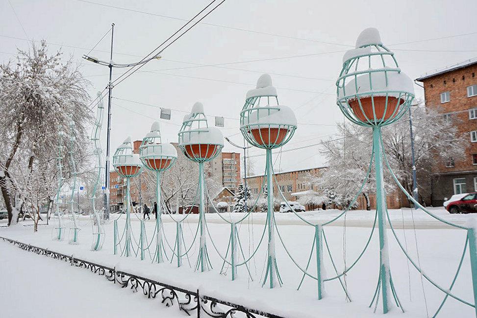 Снежные купола - юрий Амосов