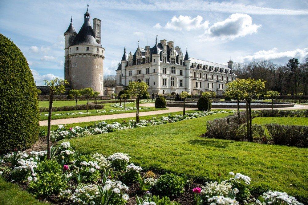 замок Шенонсо (chateau de Chenonceaux) - Георгий