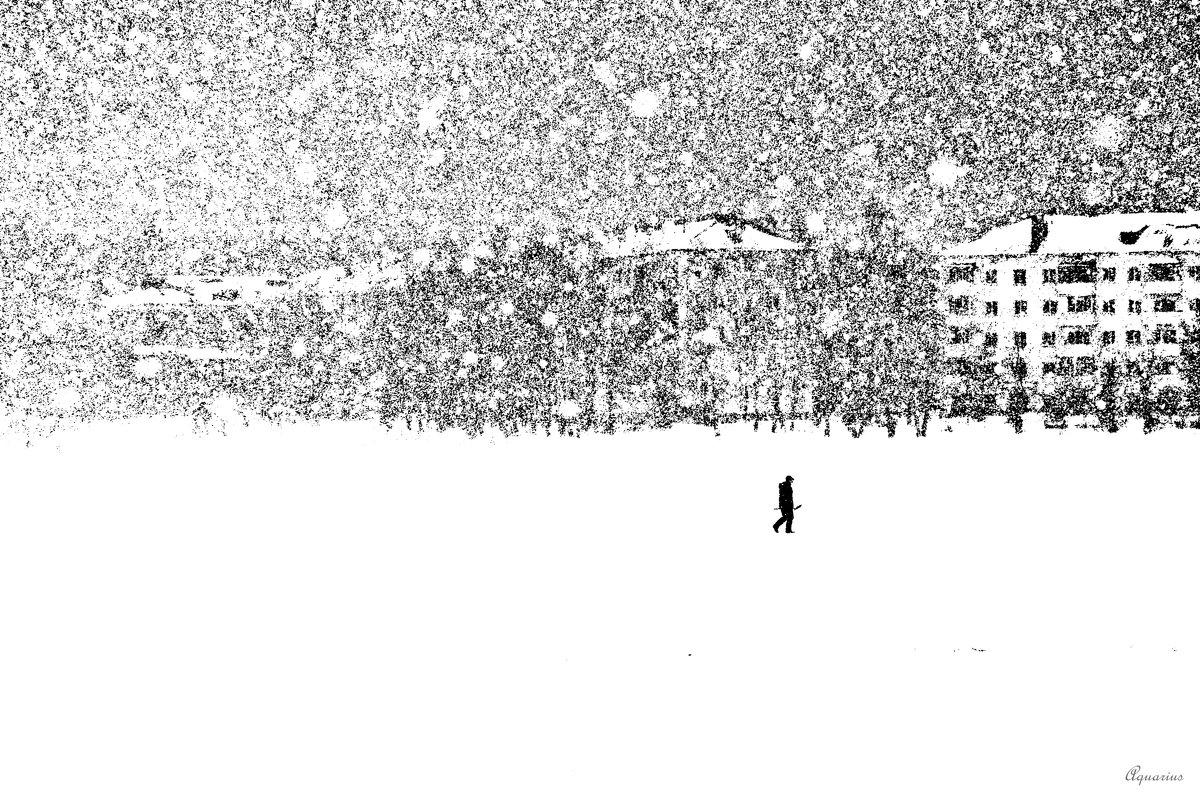Черно-белый март - Aquarius - Сергей