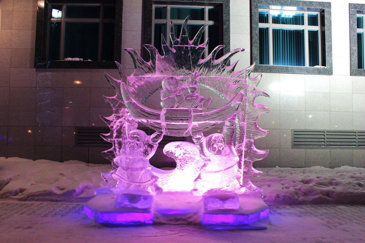 Ледовая скульптура - Ирина Яромина