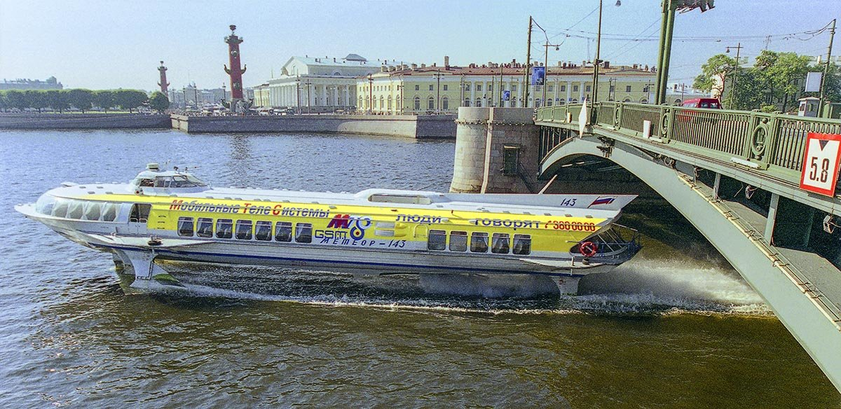Санкт-Петербург.Биржевой мост (малая Нева). - Игорь Олегович Кравченко