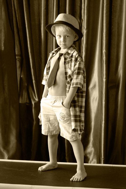 Мальчик в ретро - Надежда Преминина