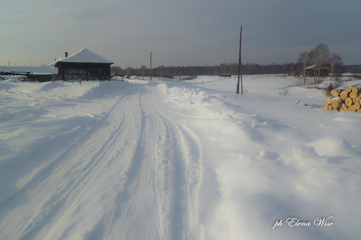 Зима в деревне - Elena Wise