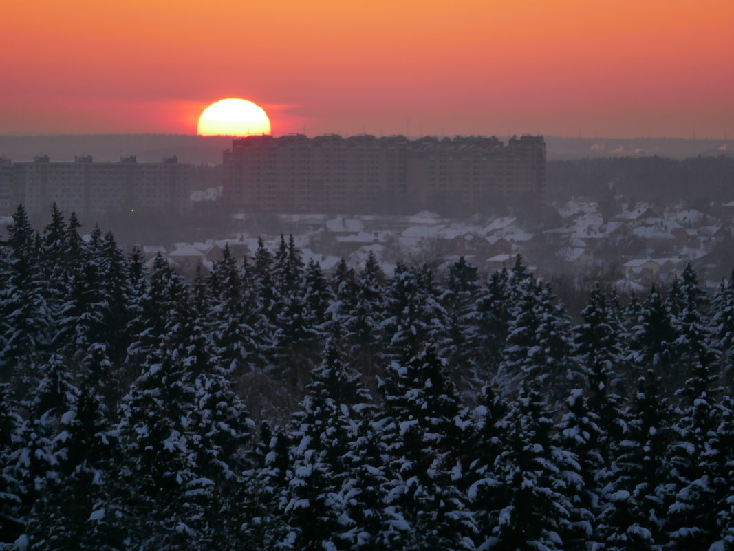 Зимняя зарисовка. - Alexey YakovLev