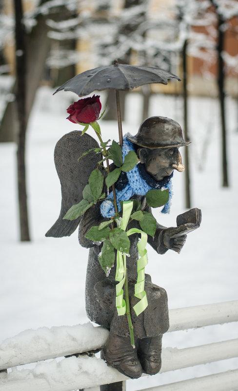 Ангел с розой - Наталья Левина