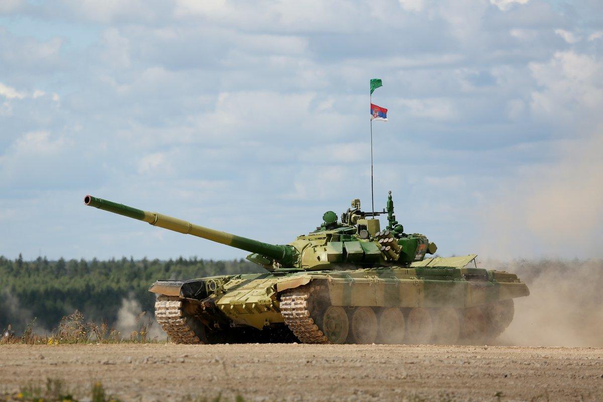Танковый биатлон - Евгений М