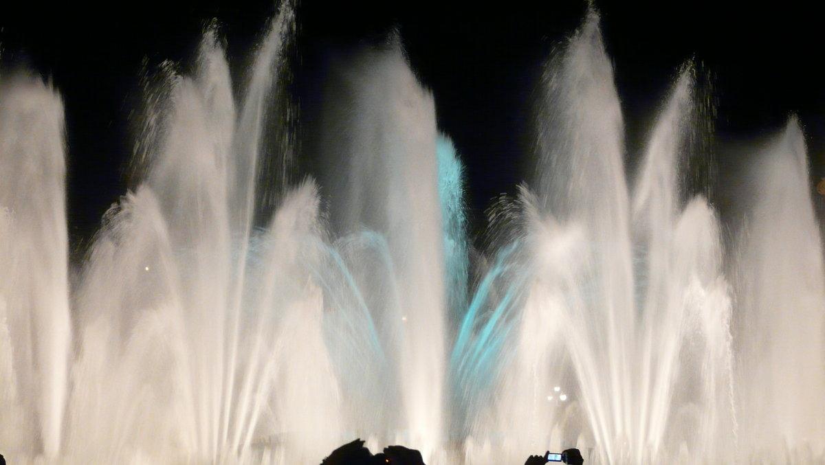 Поющие фонтаны Барселоны. - Татьяна Гусева