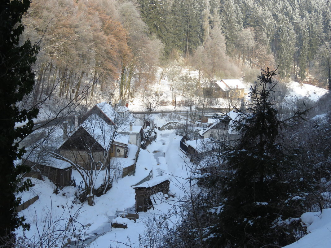 Зима в Штернберге - ИРЭН@ .