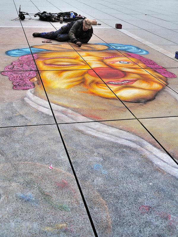 Уличный художник - alteragen Абанин Г.