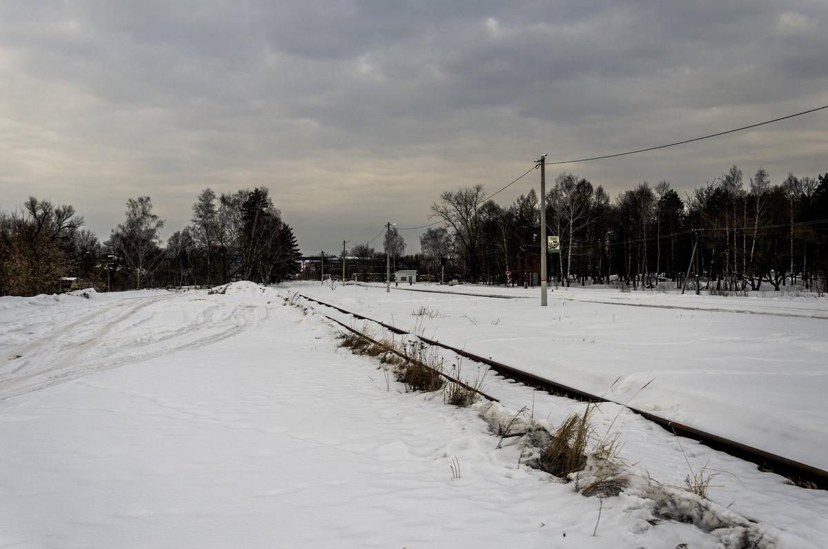 на железной на дороге - Константин Сафронов