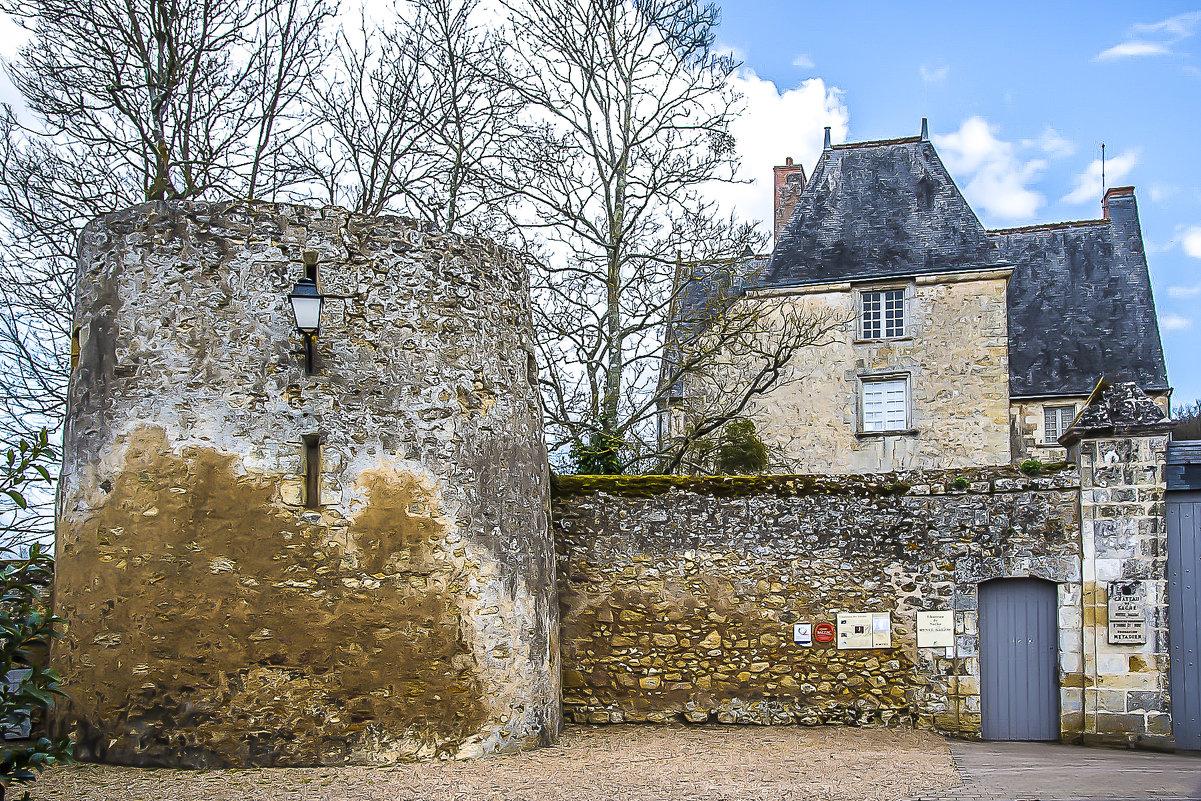 замок г. Саше и музей писателя Балзак musee Balzac a Sache - Георгий