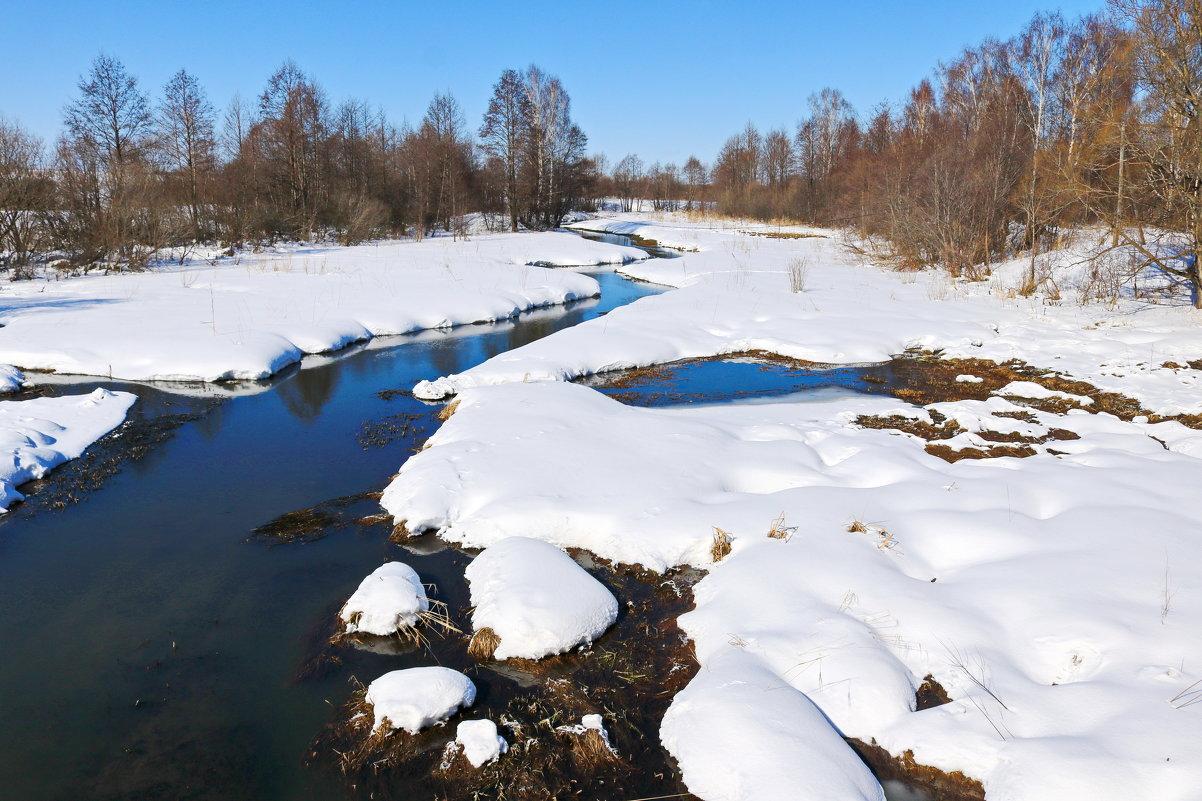 На реке. - Ирина Нафаня