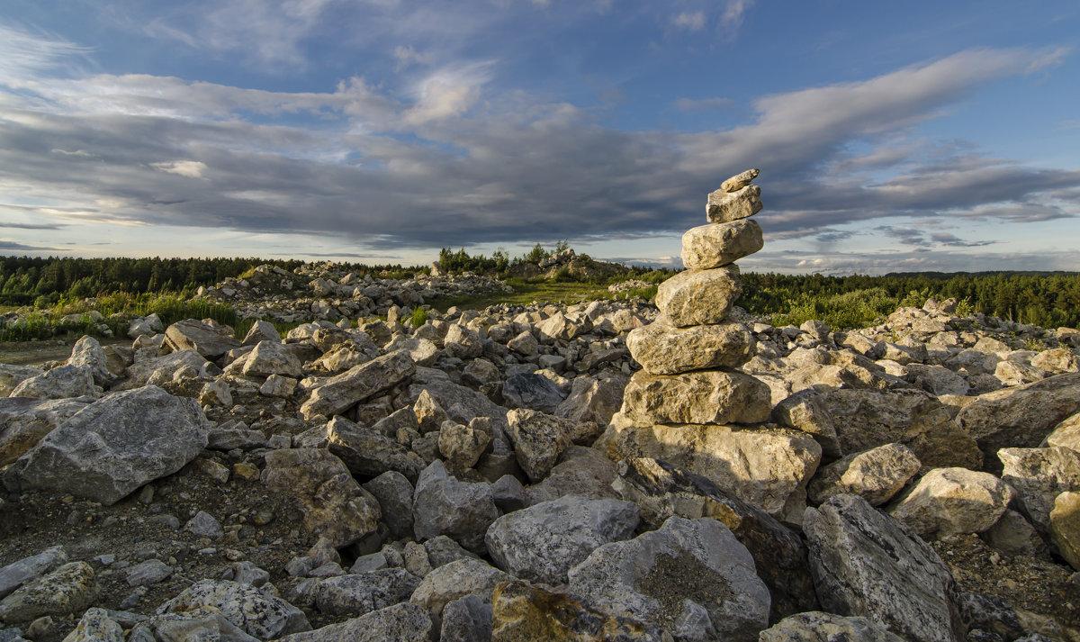 каменный пейзаж - Игорь Козырин
