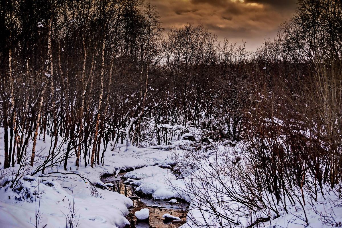 Мурманск, весна в городе... - вадим измайлов